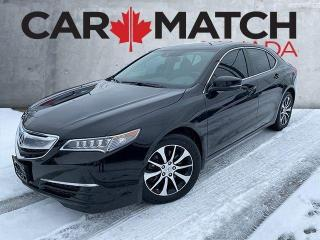Used 2017 Acura TLX TECH / NO ACCIDENTS / NAV / ROOF for sale in Cambridge, ON