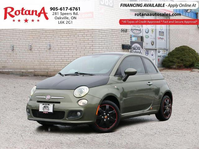 2012 Fiat 500 Sport_ACCIDENT FREE_ONE OWNER_SUNROOF_LEATHER