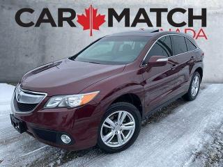 Used 2014 Acura RDX LEATHER / ROOF / NO ACCIDENTS for sale in Cambridge, ON