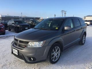 Used 2012 Dodge Journey AWD 4dr R/T *Heated Seats* *NAV* *LOW KMS* for sale in Brandon, MB