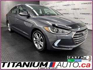 Used 2017 Hyundai Elantra Limited+GPS+Leather+Sunroof+Remote Start+Blind Spo for sale in London, ON