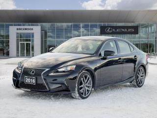 Used 2016 Lexus IS 300 4dr Sdn AWD for sale in Winnipeg, MB