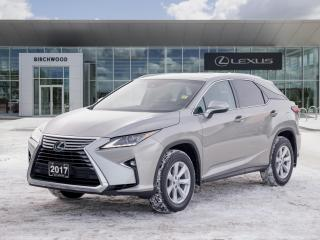Used 2017 Lexus RX 350 AWD 4dr for sale in Winnipeg, MB