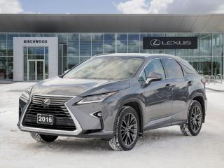 Used 2016 Lexus RX 350 EXECUTIVE for sale in Winnipeg, MB