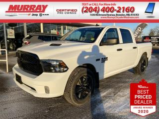 Used 2020 RAM 1500 Classic *Remote Start* *Heated Power Cloth Seat* *4X4* for sale in Brandon, MB