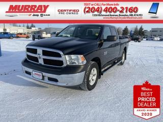 Used 2017 RAM 1500 *4WD*  *Quad Cab* * USB Ports* * Keyless Entry* for sale in Brandon, MB