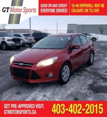 Used 2012 Ford Focus SE  I$0 DOWN - EVERYONE APPROVED for sale in Calgary, AB