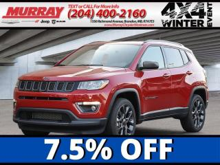New 2021 Jeep Compass 80th Anniversary for sale in Brandon, MB