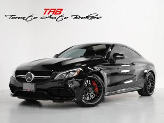Used 2018 Mercedes-Benz C-Class C63 S COUPE I AMG I RED LTHR I PANO for sale in Vaughan, ON