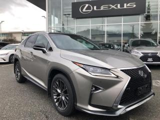 Used 2017 Lexus RX 350 8A / F Sport 3, One Owner! for sale in North Vancouver, BC