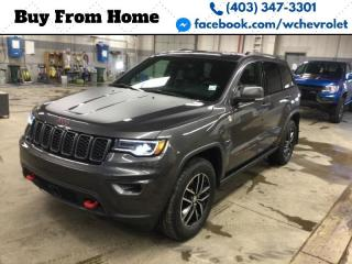 Used 2017 Jeep Grand Cherokee Trailhawk for sale in Red Deer, AB