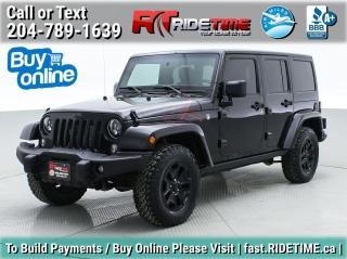 Used 2016 Jeep Wrangler Unlimited Back Country for sale in Winnipeg, MB