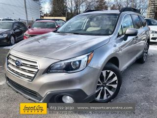 Used 2017 Subaru Outback 2.5i Limited LEATHER  ROOF  NAVI  HK SOUND  BLIS for sale in Ottawa, ON
