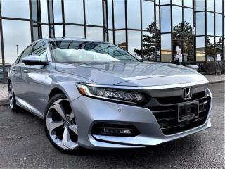 Used 2018 Honda Accord Sedan HUD|TOURING|WIRELESS CHARGING|VENTED SEATS|SUNROOF|REAR VIEW for sale in Brampton, ON