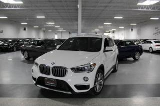Used 2017 BMW X1 XDRIVE28i NO ACCIDENTS I LEATHER I PANOROOF I REAR CAM I BT for sale in Mississauga, ON