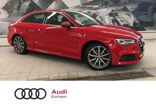 Used 2017 Audi A3 2.0T Technik + B & O | Side Assist | Backup Cam for sale in Whitby, ON