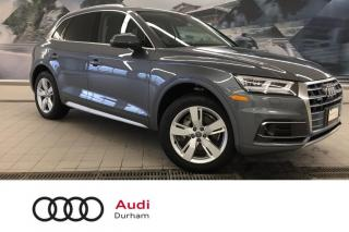 Used 2018 Audi Q5 2.0T Technik + Adapt Cruise | Lane Assist | B & O for sale in Whitby, ON