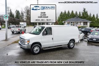 Used 2011 Ford Econoline Cargo Van E-250 Cargo Van, New Tires, Power Windows + Locks, Clean! for sale in Surrey, BC