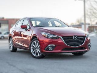 Used 2014 Mazda MAZDA3 GT/ NAV/ LEATHER/ SUNROOF/ HUD/ NO ACCIDENT! for sale in North York, ON