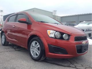 Used 2012 Chevrolet Sonic LT Automatic - New Tires - Winter Tires & Rims for sale in Cornwall, ON