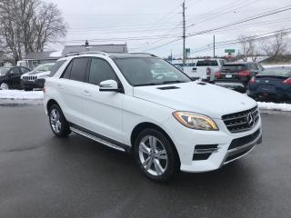 Used 2015 Mercedes-Benz ML-Class ML350 BlueTEC Diesel, Excellent Shape!! for sale in Truro, NS