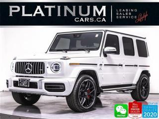 Used 2021 Mercedes-Benz G-Class AMG G63, NEW CAR, 577HP, DISTRONIC, EXCLUSIVE INT for sale in Toronto, ON