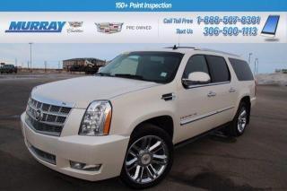 Used 2013 Cadillac Escalade ESV Platinum Edition for sale in Moose Jaw, SK