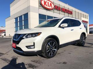 Used 2017 Nissan Rogue AWD 4dr SL Platinum Fully Loaded Clean Carfax for sale in Kingston, ON