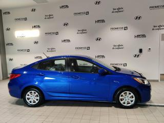 Used 2012 Hyundai Accent GL AUTOMATIQUE **AIR CLIMATISÉ / GR ÉLEC for sale in St-Eustache, QC