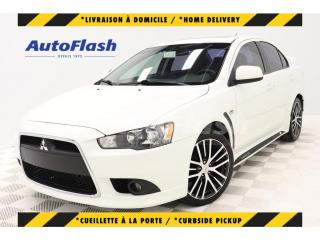 Used 2014 Mitsubishi Lancer GTS 2.0L *CUIR/LEATHER *TOIT/ROOF *ROCKFORD-FOSGAT for sale in St-Hubert, QC