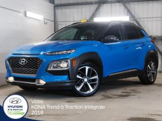 Used 2018 Hyundai KONA TREND 1.6T à Traction INTÉGRALE for sale in Val-David, QC