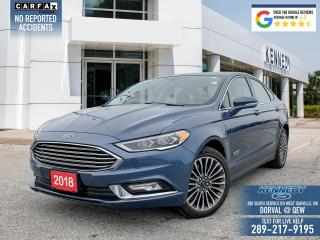 Used 2018 Ford Fusion Energi Titanium for sale in Oakville, ON