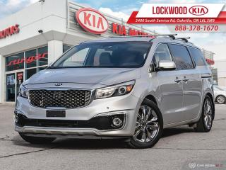 Used 2015 Kia Sedona 4dr Wgn SXL+ - Winter Tires and Rims Included! for sale in Oakville, ON