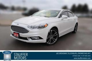 Used 2018 Ford Fusion Titanium for sale in Tillsonburg, ON