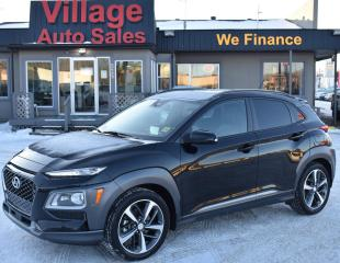 Used 2018 Hyundai KONA 1.6T Ultimate SUNROOF! BACK UP CAMERA! AWD! for sale in Saskatoon, SK