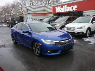 Used 2016 Honda Civic Touring Sedan Leather Sunroof for sale in Ottawa, ON
