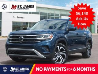 New 2021 Volkswagen Atlas Execline ***DEMO*** Price Includes Winter Tires for sale in Winnipeg, MB