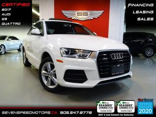 Used 2017 Audi Q3 | CERTIFIED | FINANCE @ 4.65% for sale in Oakville, ON