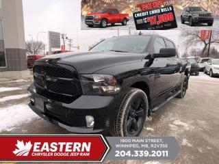 New 2021 RAM 1500 Classic Express   Backup Cam   Remote Start   Htd. Seats   for sale in Winnipeg, MB
