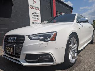 Used 2016 Audi S5 V6 T, Progressiv Plus, Navigation, AWD, for sale in Burlington, ON