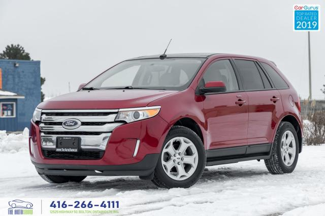 2013 Ford Edge SEL|Clean Carfax|Dealer maintained|Pano roof|