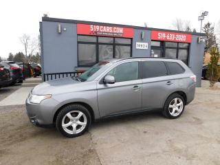 Used 2014 Mitsubishi Outlander SE | Sunroof | Heated Seats | Backup Camera for sale in St. Thomas, ON