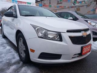 Used 2012 Chevrolet Cruze LS+ w/1SB-BLUETOOTH-AUX-USB-ALLOYS-WINTER TIRES for sale in Scarborough, ON