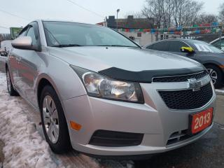 Used 2013 Chevrolet Cruze LT Turbo-4 CYL-BLUETOOTH-AUX-USB-WINTER TIRES for sale in Scarborough, ON