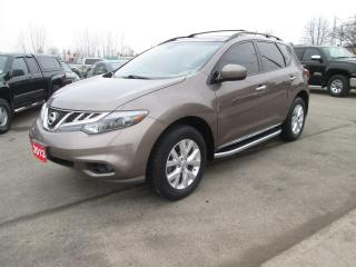 Used 2013 Nissan Murano SL for sale in Hamilton, ON