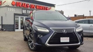 Used 2017 Lexus RX 350 Executive Package for sale in Oakville, ON