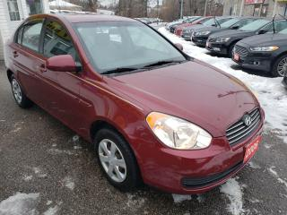 Used 2006 Hyundai Accent GL /AUTO/AIR/P.WINDOWS/CD++ for sale in Scarborough, ON