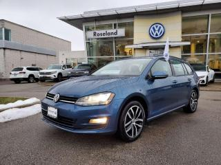 Used 2016 Volkswagen Golf Sportwagon Comfortline 4dr FWD Wagon for sale in Burlington, ON