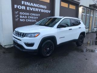 Used 2018 Jeep Compass Sport 4WD for sale in Abbotsford, BC