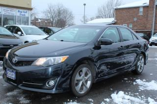 Used 2013 Toyota Camry SE Sunroof Leather Nav for sale in Brampton, ON